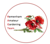 Emblem of the Remenham Amateur Gardening Team