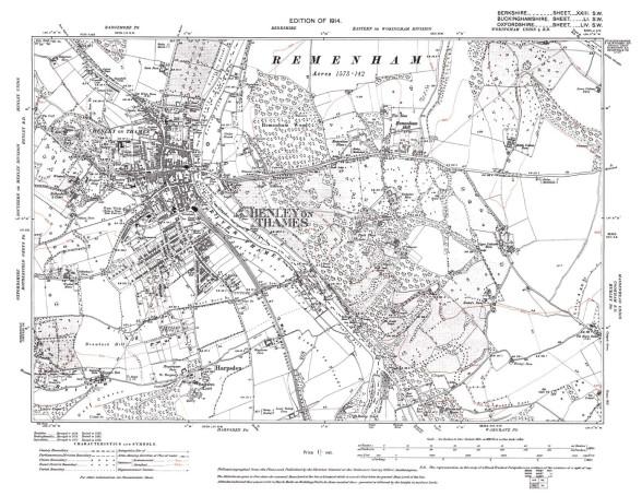 old mao of Remenham Hill 1914