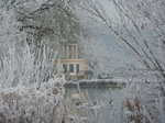 Temple Island in frost
