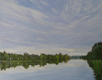 Henley Reach - Painted by Steve Allender