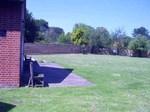 Parish  Hall grassed area